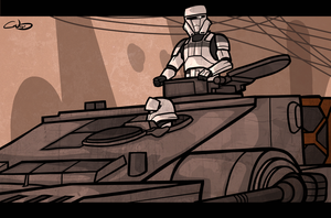 Imperial Tank by SmacksArt
