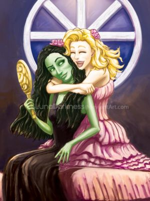 Wicked The Musical: BFF by LunaDarkness