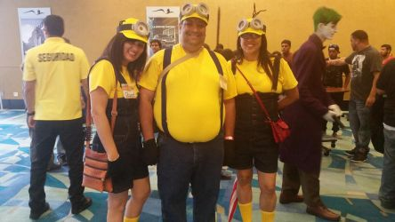 Minions cosplay by Shippuden23