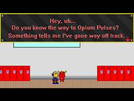 Whoa, Opius! What are you doing here?! by RyanSilberman