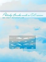 Clouds Photoshop Brushe Set by Coby17