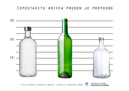 Poster for alcohol abuse by legice