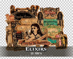 Elixirs PNGs by Bellacrix
