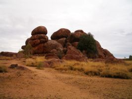 Devils marbles by CAStock