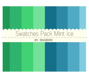 Swatches pack mint ice by TheSeekerReki