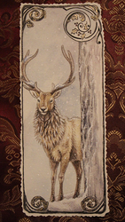 Stag Card by Sidonie