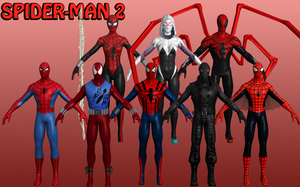 Spider-Man Marvel Heroes XNALara 2 by Xelandis