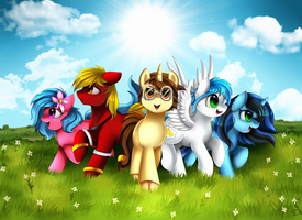 Comm: Group Assemble by pridark