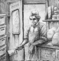 Just your friendly Butcher by JGroeling
