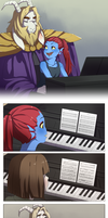 [UnderTale] - Memory of a Father by benteja