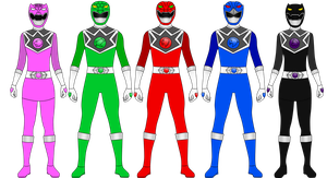 Power Ranger Crystal Roar for DerpMP6 by Iyuuga