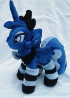 Princess Luna Plush Commission With Socks by Sparkle-And-Sunshine