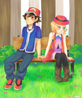 Amourshipping by tekochan