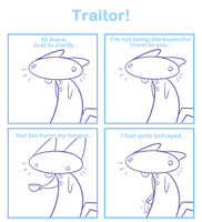Mr Whiskers and the Traitor by SmokyJack