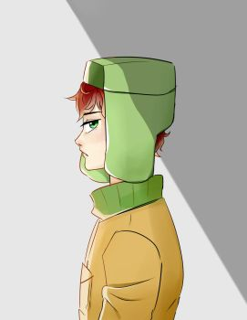 Kyle from Southpark by wizzywoflie