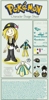 Pokemon Trainer Reference Sheet
