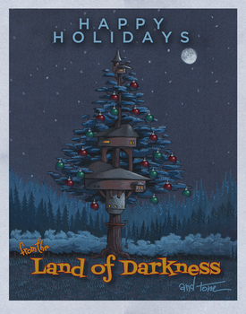 DarknessXmas by OneMillionMonsters