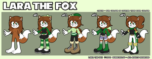 :: REFERENCE :: LARA THE FOX by Bubbleslou