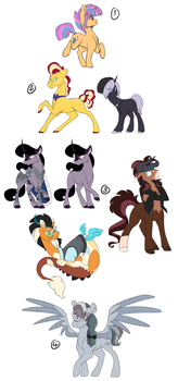 Completed Art Trades by TorusTheScribe