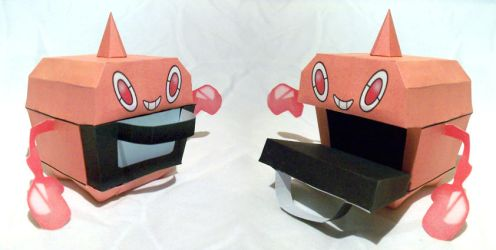 Oven Rotom papertoy by P-M-F