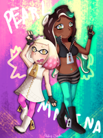 pearl and marina by KirbyTardos