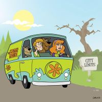 Scooby Doo Commission 1 by BillWalko