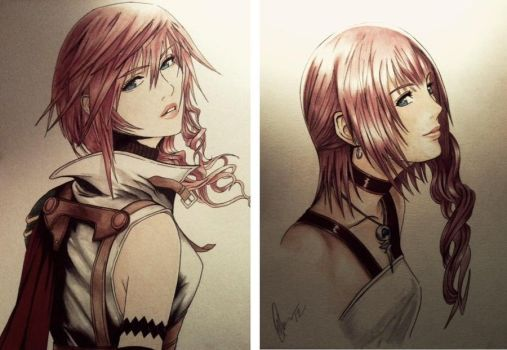 ~Farron Sisters~ Etro's Champions by Violet-eye-sorceress