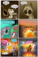 Fallout Equestria: Shining Hearts Page 9 of 10 by alfredofroylan2