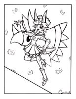 Coloring page- Tricera by Sea-Salt