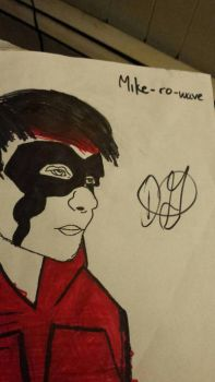 Michael Clifford/ Mike-ro-wave by DaniSlays
