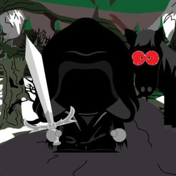 South Park Nazgul by EvilWarChief666
