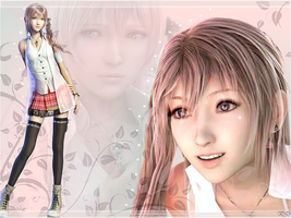 Serah Desktop BG by Nami-Lee
