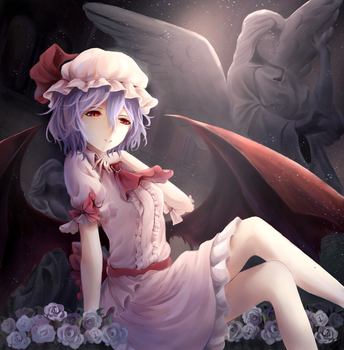 Remilia Scarlet by avrytheist