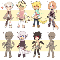 [LOWERED PRICE -- OPEN] Adopt Set by matomin