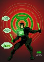 Daredevil Green Lantern by BloodySamoan