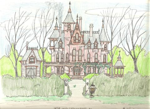 Elsa Frankenstein's Home, 1818 Wollstoncraft Ave. by gothold