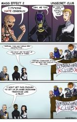 Mass Effect 2: Unsecret Club by higheternity