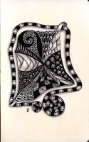 Zentangle Nr4 by DozyDog