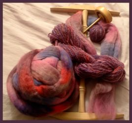 Life Stages of Purple Wool by merssong