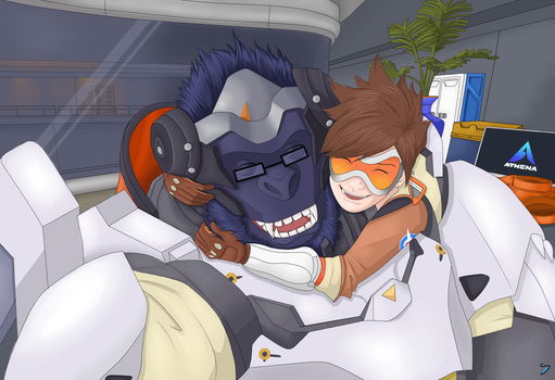 Tracer Winston by I-see-no-Bottle