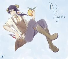 dA-F: Dell Pignolo by Cotton-Keyk