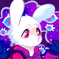 it's easter and coincidence this is a rabbit by xenobug