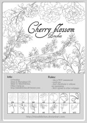 FREE - Cherry Blossom brushes by MissDidichan