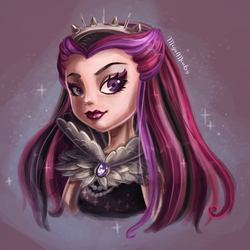 Raven Queen Ever After High by Mig515