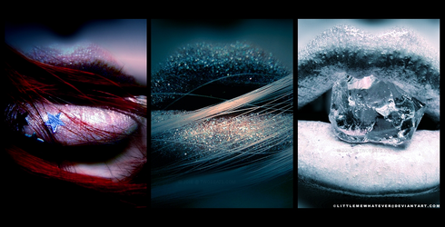 Lips Series by littlemewhatever