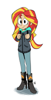 Hoodie Sunset Shimmer by not-a-soda