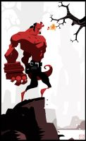 Hellboy FanArt by betteo