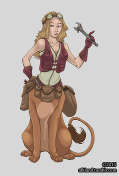[Commission] Caela by ridia