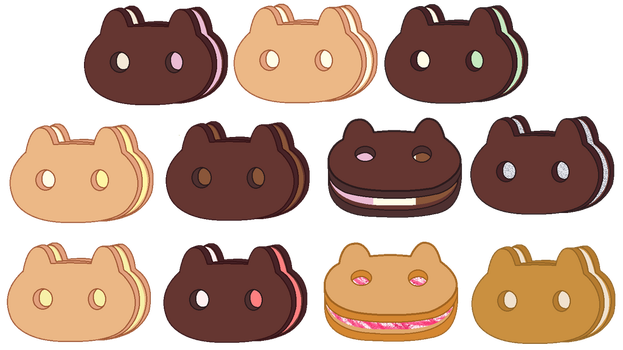 Cookie Cat Flavours by Chocolate-Mocha-0