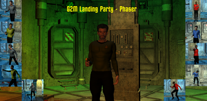 G2 Male Landing Party Poses - Phaser by ssgbryan